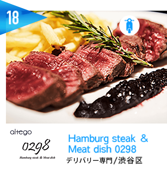 Hamburg steak & Meat dish 0298